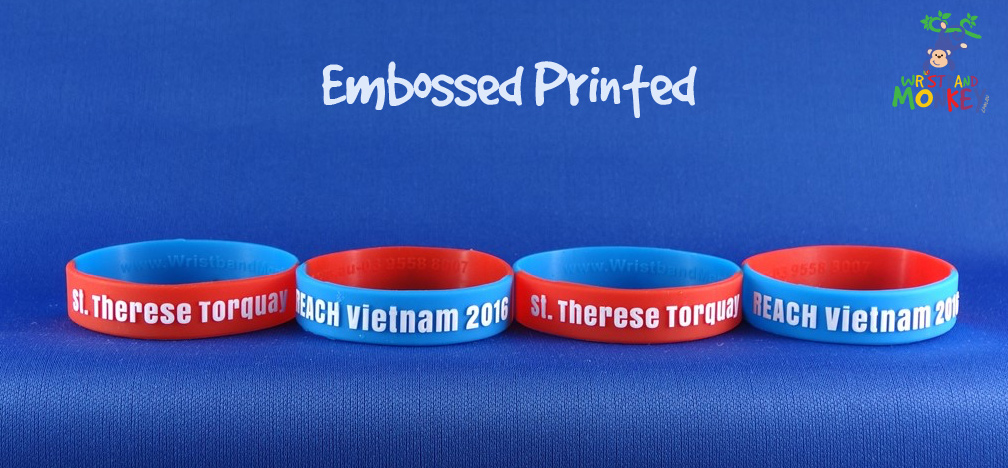 Embossed Printed Bands