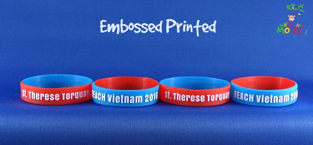 Embossed Printed Bands