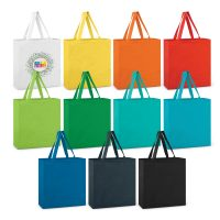 Carnaby Cotton Tote Bag - Colours Bulk Supplier
