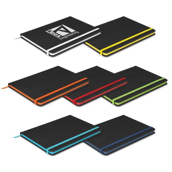 Omega Black Notebook Bulk Supplier