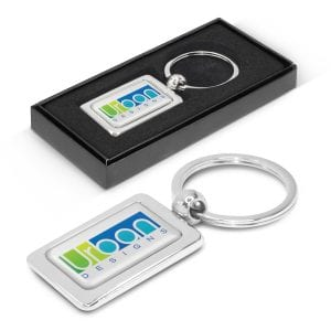 Rectangular Metal Key Ring Bulk Supplier