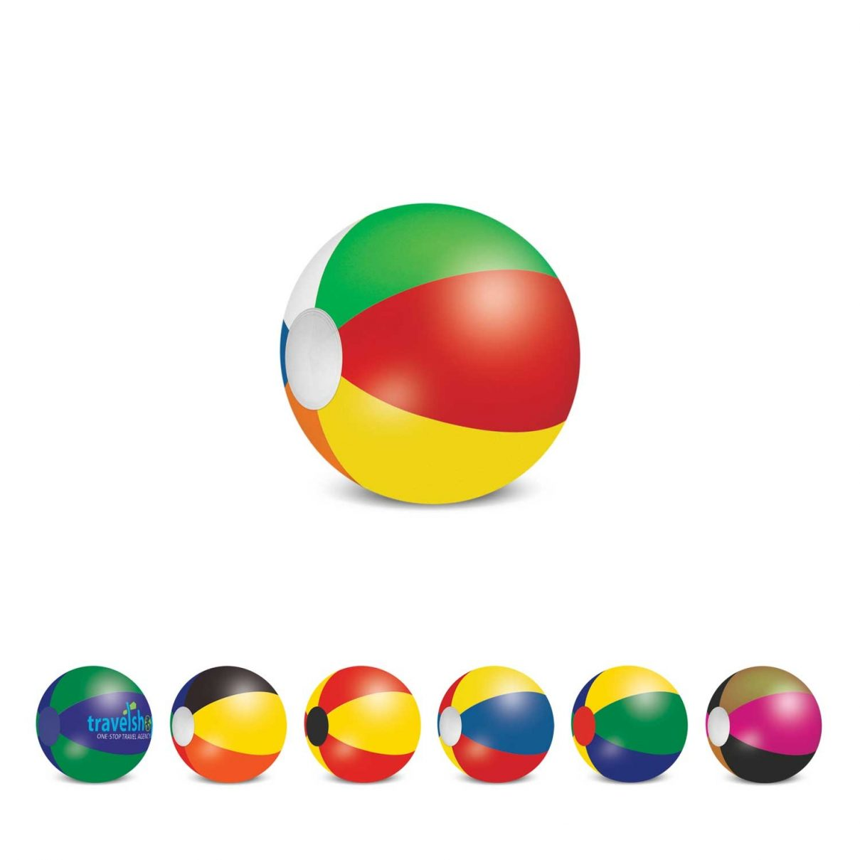 Beach Ball - 28cm Mix and Match Bulk Supplier