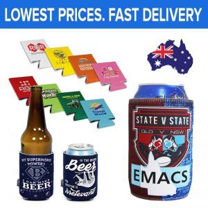 Personalised Stubby Coolers Austrlaia