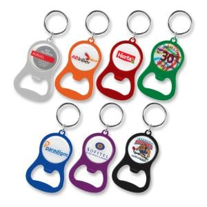Chevron Bottle Opener Key Ring Bulk Supplier