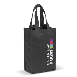 Wine Tote Bag - Double Bulk Supplier