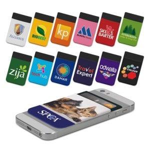 Lycra Phone Wallet - Full Colour Bulk Supplier