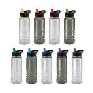 Triton Elite Drink Bottle - Clear and Black Bulk Supplier