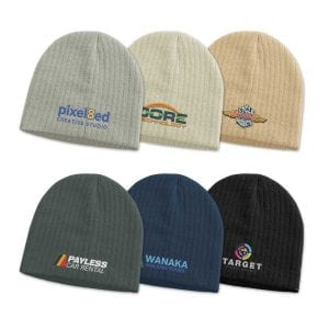 Nebraska Cable Knit Beanie Bulk Supplier