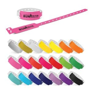 Plastic Event Wrist Band Bulk Supplier