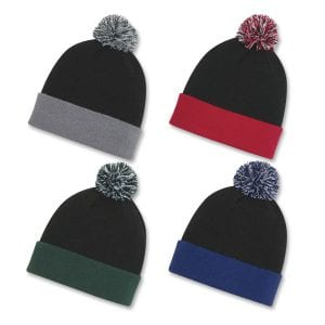 Knit Pom Cuff Beanie Bulk Supplier