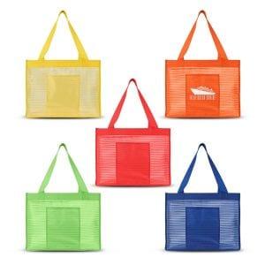 Sheer Striped Tote Bag Bulk Supplier