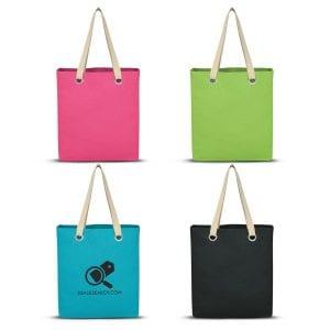 Vibrant Cotton Canvas Tote Bag Bulk Supplier