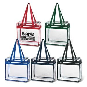 Clear Tote With Zipper Bulk Supplier