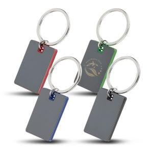 Colour Block Mirrored Key Tag Bulk Supplier