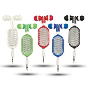 Retractable Reflective Earbuds Bulk Supplier