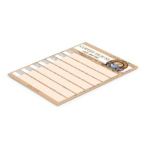 A5 Note Pad - 25 Leaves Bulk Supplier