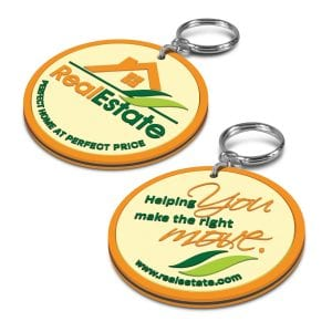 PVC Key Ring - Double Sided Bulk Supplier