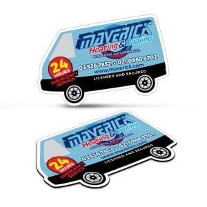 Fridge Magnet 90 x 55mm - Van Shape Bulk Supplier