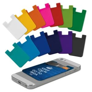 Silicone Phone Wallet - Full Colour Bulk Supplier