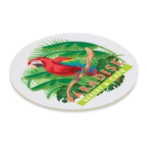 Cardboard Drink Coaster - Round Bulk Supplier