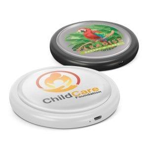 Imperium Round Wireless Charger - Resin Bulk Supplier