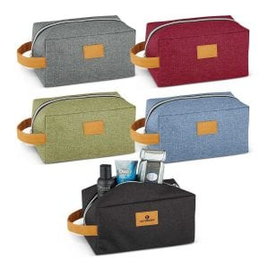 Heathered Toiletry Bag Bulk Supplier