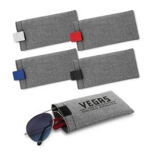 Heathered Eyeglass Pouch Bulk Supplier