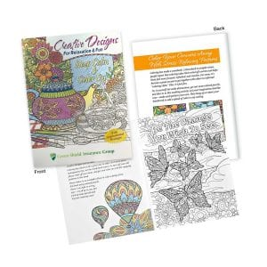 Adult Colouring Book Bulk Supplier