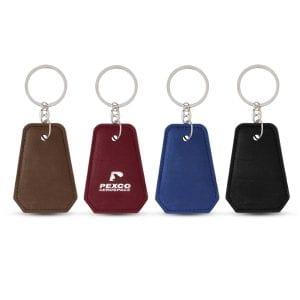 Leatherette Bottle Opener Key Ring Bulk Supplier