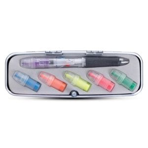 Tri-Color Pen and Highlighter Set Bulk Supplier