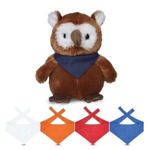 Small Hoot Owl - Bandana Bulk Supplier