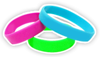 Standard Silicone Wristbands