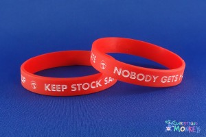 Silicone Wristbands for Bunnings