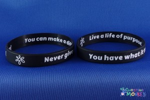 Engraved Silicone Wristband
