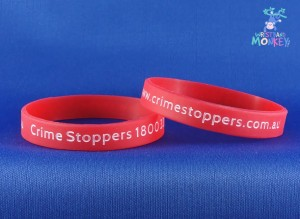 Crime Stoppers Wristbands