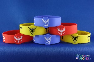 Custom Shape Wristbands