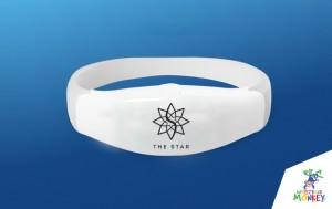 remote controlled flashing bracelets