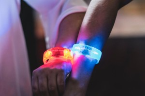 Interactive LED Wristbands